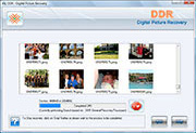 Software Screenshot De la Recuperación De los Cuadros De Digital