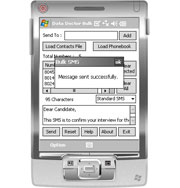 Pocket PC to Mobile Messaging
