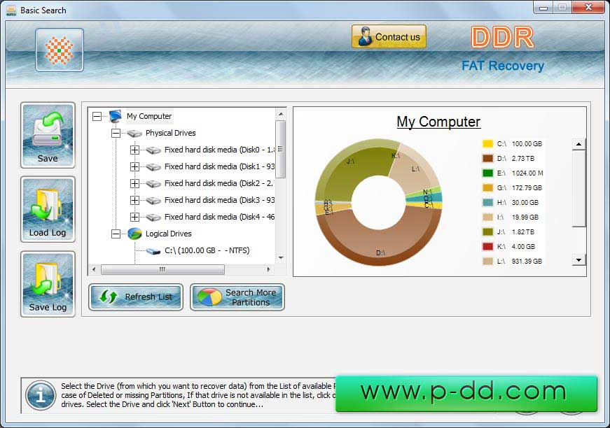 Windows 7 Fat Data Recovery Software 4.0.1.6 full