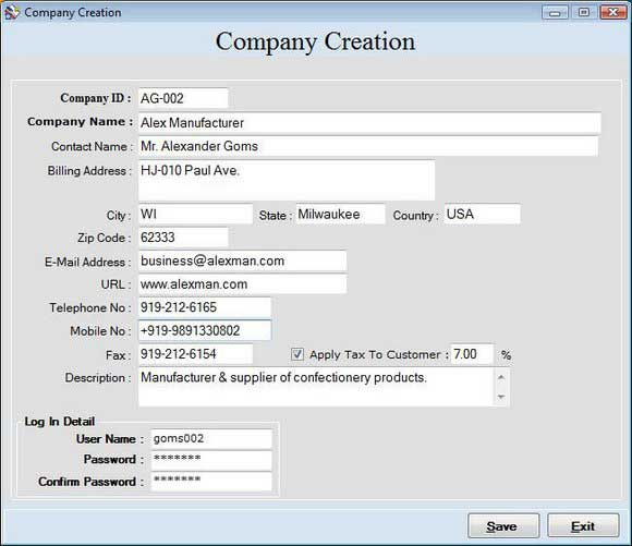 Billing and Accounting Software 2.0.1.5