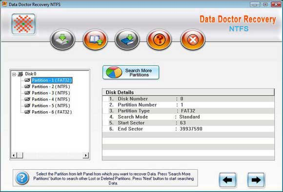 NTFS Partition Recovery Ex 3.0.1.5