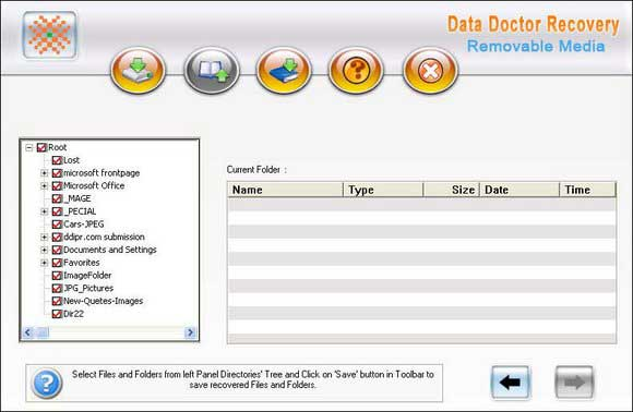 Removable Media Data Recovery Software 3.0.1.5